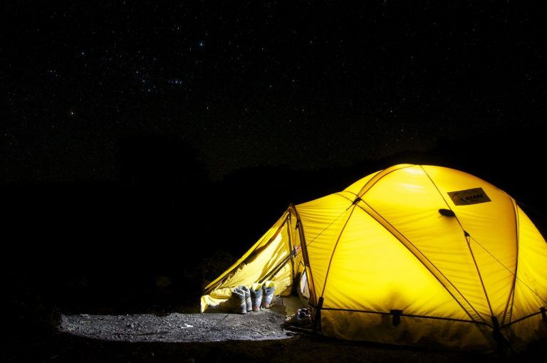 CAMPING IN THE GARDEN WITH YOUR KIDS