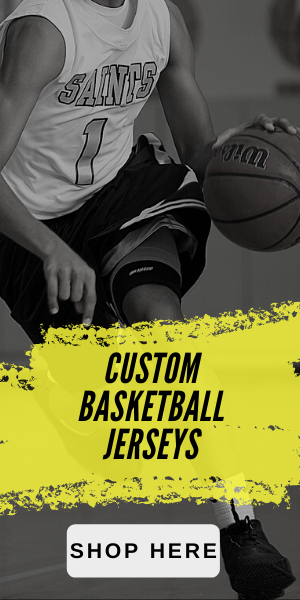 Custom Basketball Jerseys available